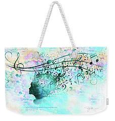 10846 Melodic Dreams Weekender Tote Bag