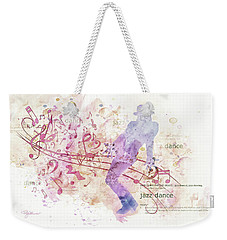 10849 All That Jazz Weekender Tote Bag