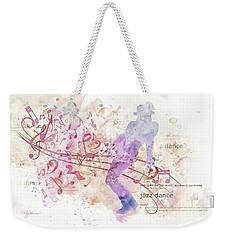 10849 All That Jazz Weekender Tote Bag