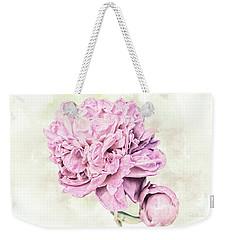 10861 Spring Peony Weekender Tote Bag by Pamela Williams