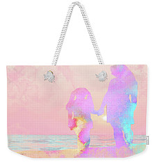 10876 Sunset With Mom Weekender Tote Bag by Pamela Williams