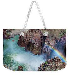 10883 Rainbow Over Owyhee Weekender Tote Bag