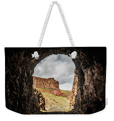 10888 Lake Owyhee Road Tunnel Weekender Tote Bag by Pamela Williams