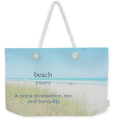 10967 Beach Tranquility Weekender Tote Bag