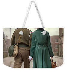 1940s Couple Weekender Tote Bag