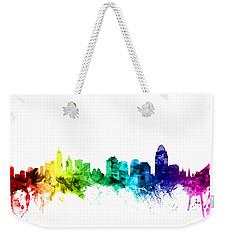 Cincinnati Ohio Skyline Weekender Tote Bag