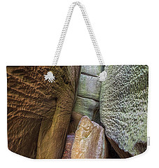 Weekender Tote Bag featuring the photograph Great Virginia Channels  by Kevin Blackburn