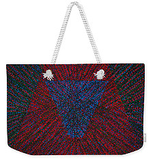 Weekender Tote Bag featuring the painting Mobius Band by Kyung Hee Hogg