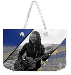 Tracy Chapman Collection Weekender Tote Bag by Marvin Blaine