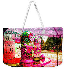 Russian Matrushka Dolls Wall Art Weekender Tote Bag