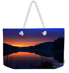 Weekender Tote Bag featuring the photograph Winter Dawn by Thomas R Fletcher
