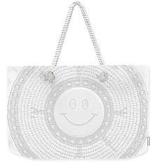 110-happy Face 0115 Wampum White Weekender Tote Bag