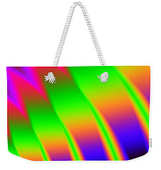 Weekender Tote Bag featuring the digital art 110 In The Shade by Kevin Caudill