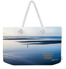 A Buddha Saying Weekender Tote Bag