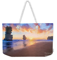 12 Apostles With Marshmallow Skies    Og Weekender Tote Bag