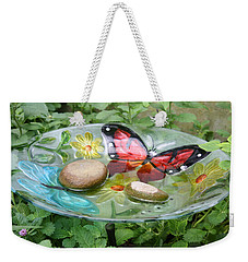 Cypress Gardens Weekender Tote Bag by Ellen Tully