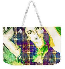 Irina Shayk Weekender Tote Bag