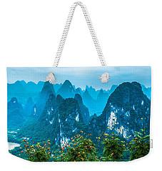 Karst Mountains Landscape Weekender Tote Bag