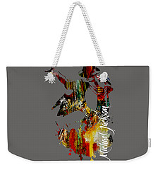 Michael Jackson Collection Weekender Tote Bag