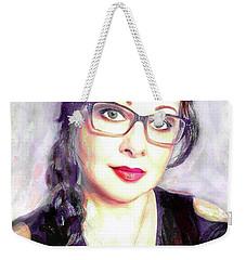 Portrait Weekender Tote Bag by Afrodita Ellerman