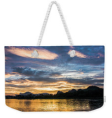 Sunrise Scenery In The Morning Weekender Tote Bag