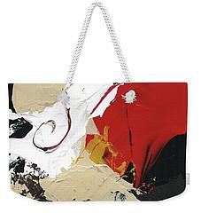 Three Color Palette Weekender Tote Bag by Michal Mitak Mahgerefteh