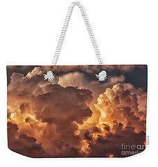Thunderhead At Sunset Weekender Tote Bag