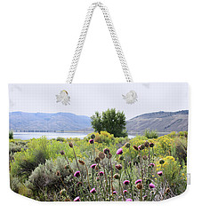Wolford Mountain Reservoir Colorado Weekender Tote Bag by Ellen Tully