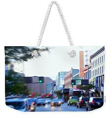 125th Street Harlem Nyc Weekender Tote Bag by Ed Weidman