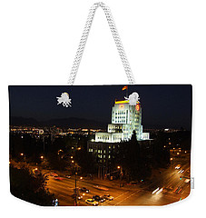 Weekender Tote Bag featuring the photograph 12th And Cambie 1 by Mark Alan Perry
