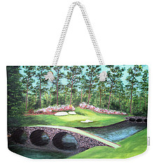 12th Hole At Augusta National Weekender Tote Bag