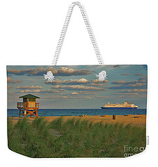 Weekender Tote Bag featuring the photograph 13- Cruising In Paradise by Joseph Keane