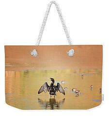 Neotropic Cormorant Weekender Tote Bag