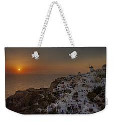 Oia - Santorini Weekender Tote Bag