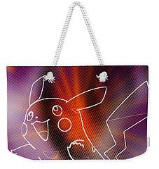 Pokemon - Pikachu Weekender Tote Bag by Kyle West