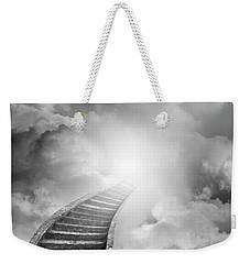 Weekender Tote Bag featuring the photograph Stairway To Heaven by Les Cunliffe