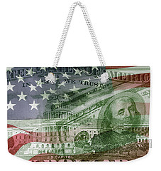 Usa Finance Weekender Tote Bag