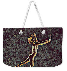 1302s-zak Naked Dancers Leap Nudes In The Style Of Antonio Bravo Weekender Tote Bag