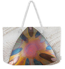 1350 Triangle Sunburst Pendant Weekender Tote Bag