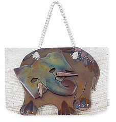 1362 Trying To Remember  Pendant Weekender Tote Bag