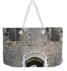 Caerphilly Castle Weekender Tote Bag