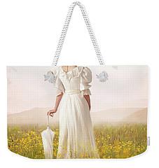 Edwardian Woman  Weekender Tote Bag by Lee Avison