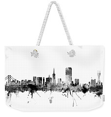 San Francisco City Skyline Weekender Tote Bag