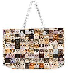 140 Random Cats Weekender Tote Bag