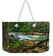 Weekender Tote Bag featuring the photograph Back Fork Of Elk River by Thomas R Fletcher