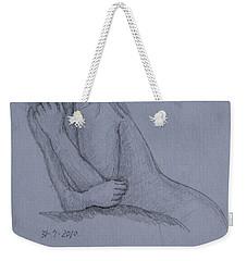Nude Study Weekender Tote Bag