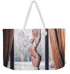 Weekender Tote Bag featuring the photograph 1593 by Traven Milovich