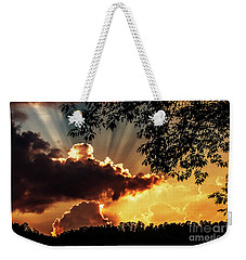 Weekender Tote Bag featuring the photograph Appalachian Sunset by Thomas R Fletcher