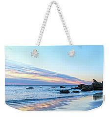 Rocky Daybreak Seascape Weekender Tote Bag