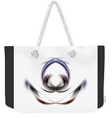 Weekender Tote Bag featuring the digital art 165-2015 by John Krakora